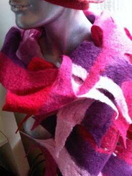 veelkleurige shawl